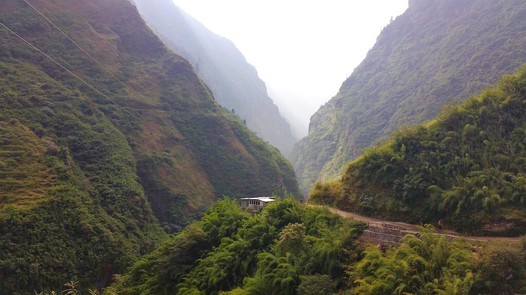 Pierwsze dni naszlaku - trekking przezdżunglę