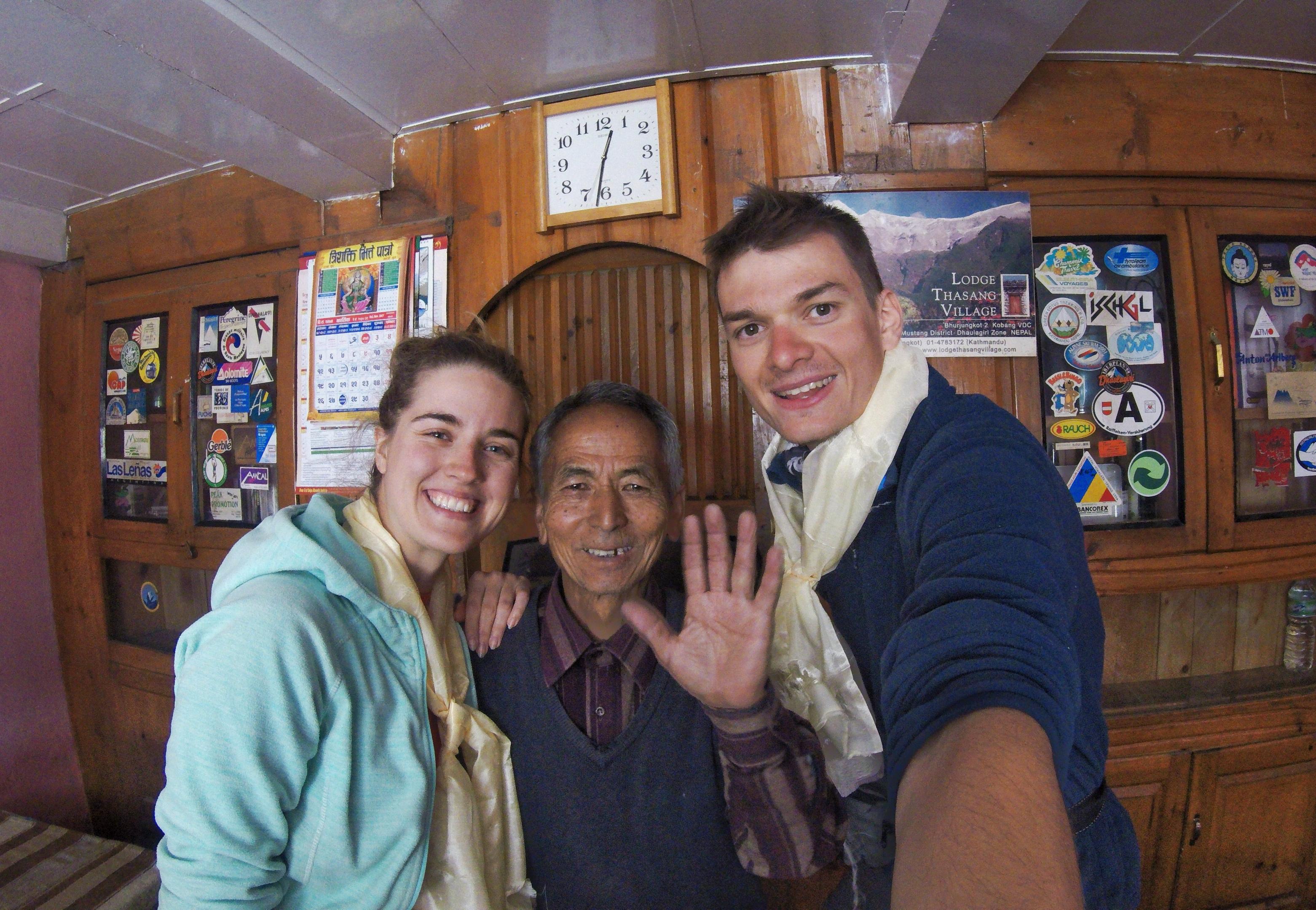 Odwiedziny uPana Bhakti - przyjaciela Jerzego Kukuczki