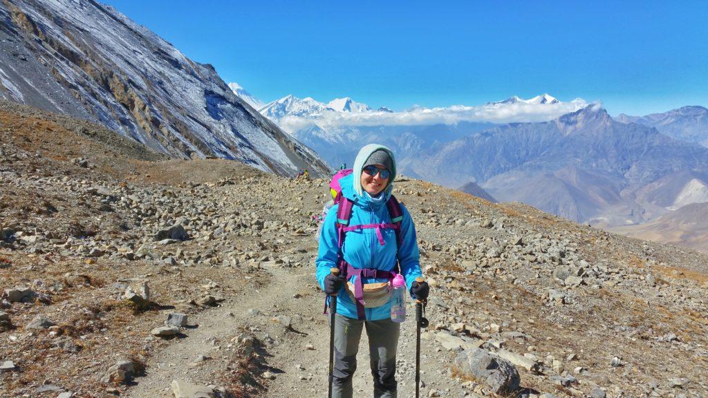 Kilka godzin przedwyjściem naprzełęcz Thorung La