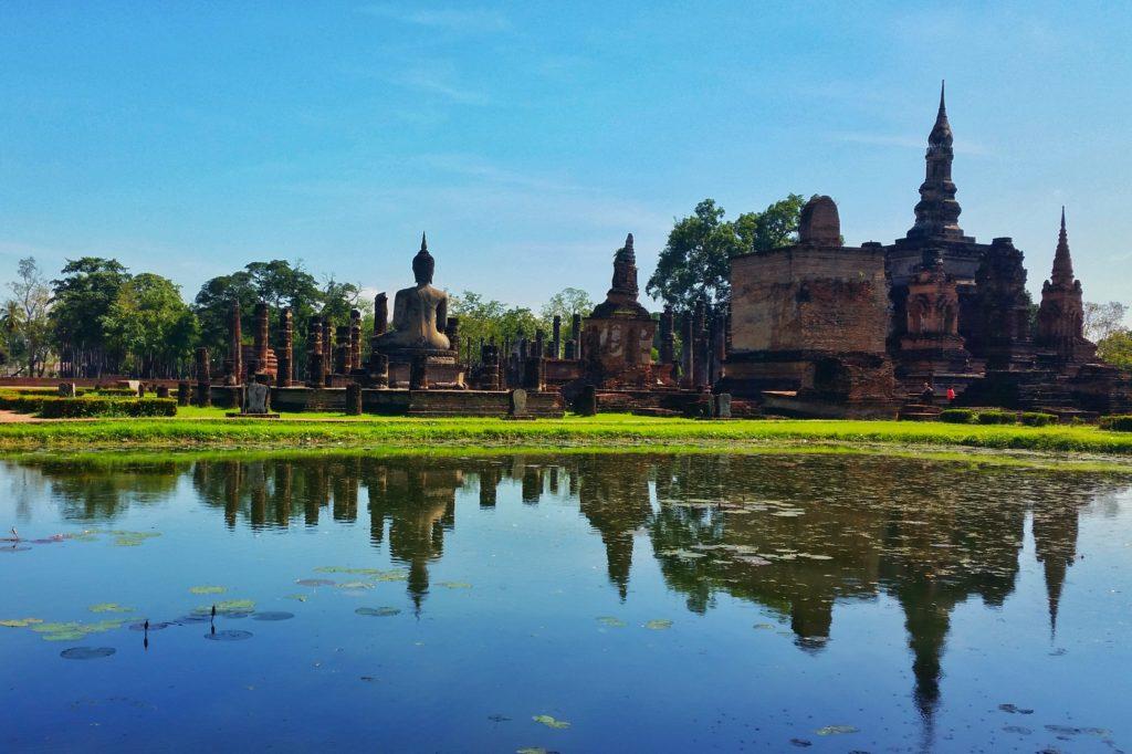 Sukhothai - ruiny starego miasta