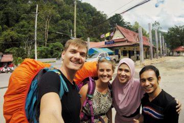 Autostopem przez Tajlandię i Malezję