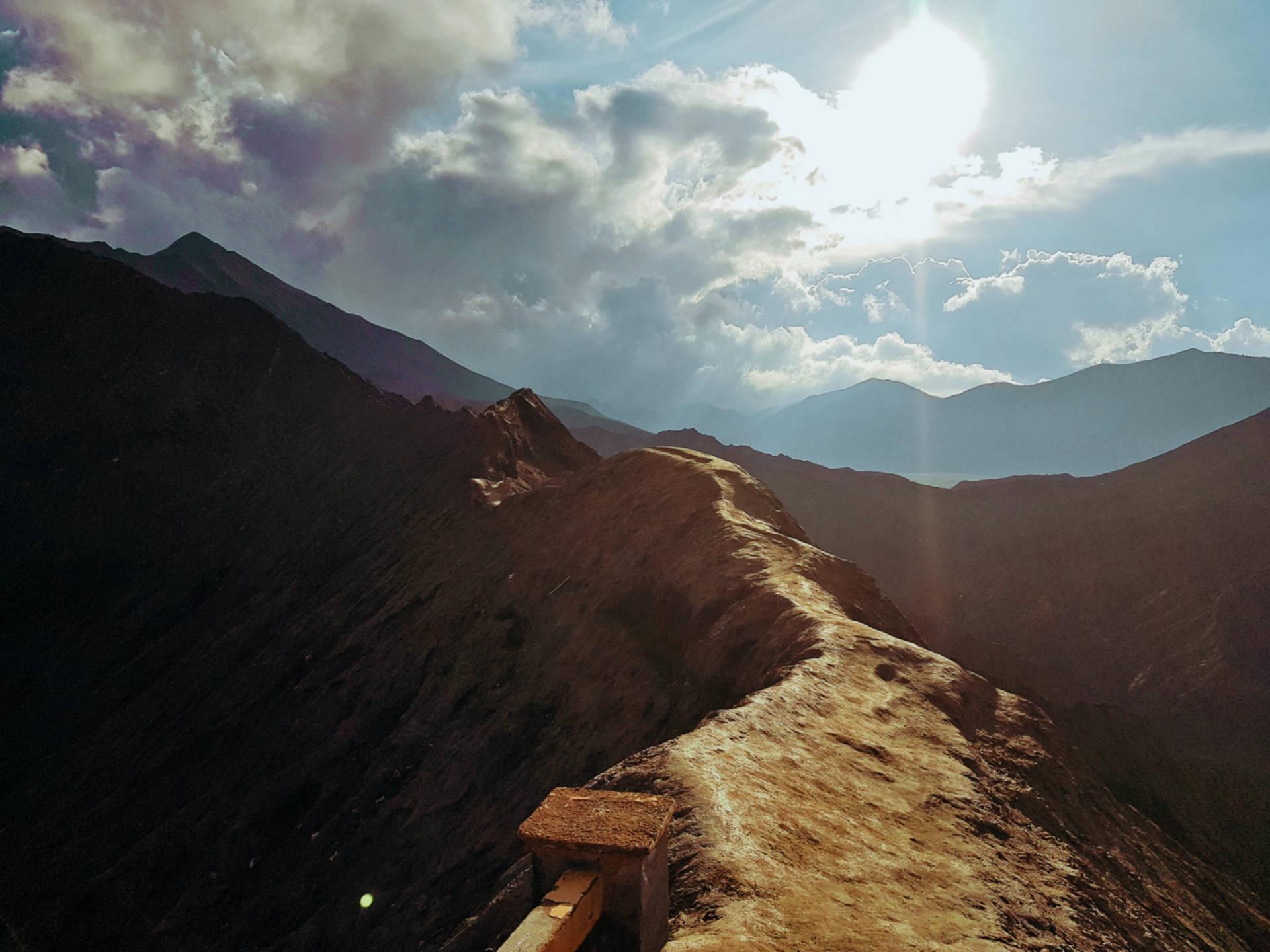 Wschód słońca nadwulkanem Bromo (5)