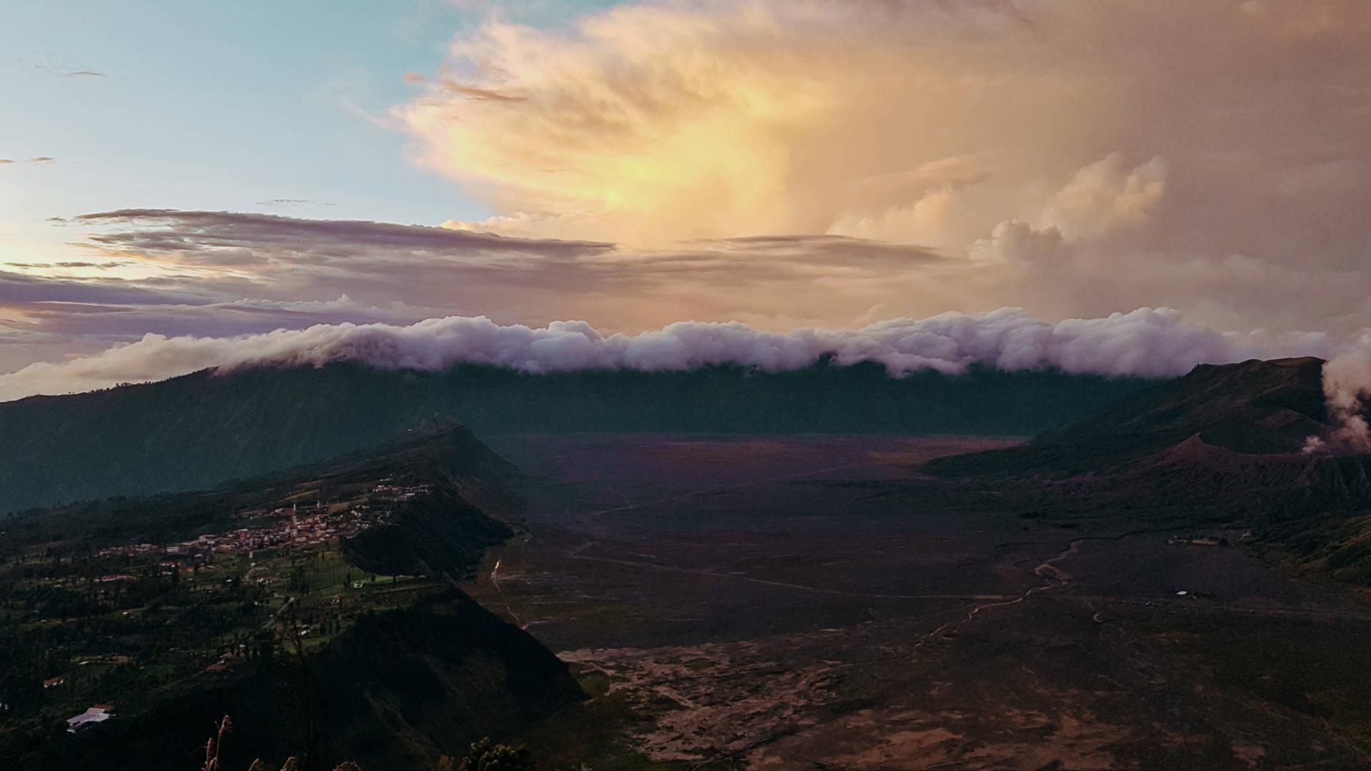 Wschód słońca nadwulkanem Bromo (6)